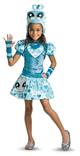 Girls Littlest Pet Shop Lovebug Kids Child Fancy Dress Party Halloween Costume, Child (4-6) -