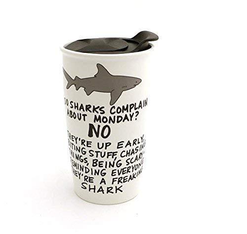 G-Rated Monday Shark Eco Travel Mug1