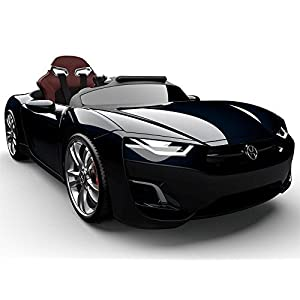 Henes-Broon-F830-with-Tablet-PC-12V-Kids-Ride-On-Car-Electric-Powered-Wheels-Remote-Control-RC-Black