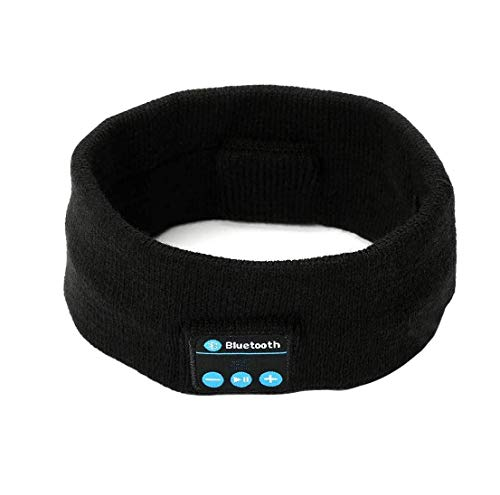TechGuy4u Wireless Bluetooth Headphone with Mic  Black