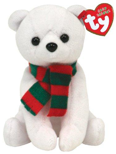 TY Baby Beanies Alpine Polar Bear (Jingle Beanie - Smaller than Beanie Baby)