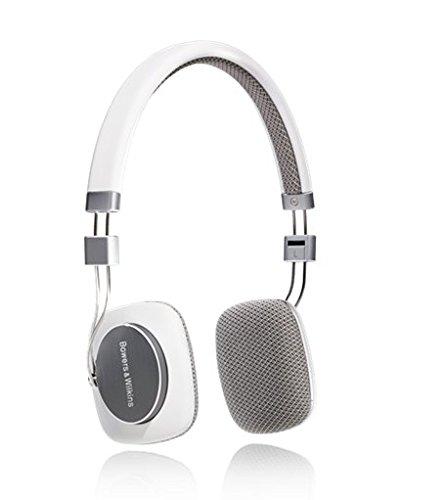 B&W P3 Ultraleicht HiFi-Kopfhörer inkl. MFi-Anschlusskabel für Apple iPod/iPhone weiß