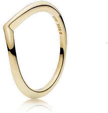 PANDORA 168742C00-54 54 Shining Wish Ring
