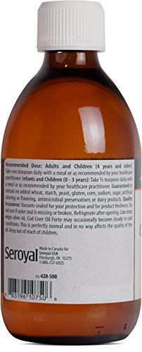 Genestra Brands - Cod Liver Oil Forte - Vitamin + Essential Fatty Acid Supplement - 16.9 fl oz (500 ml) by Genestra Brands (Image #2)'