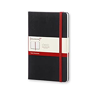 Moleskine Classic Notebooks, Large (5 x 8.25), Hard Cover