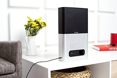 Petcube Bites Pet Camera: Flings Treats, 1080p HD Video, 2-Way Audio, and Night Vision