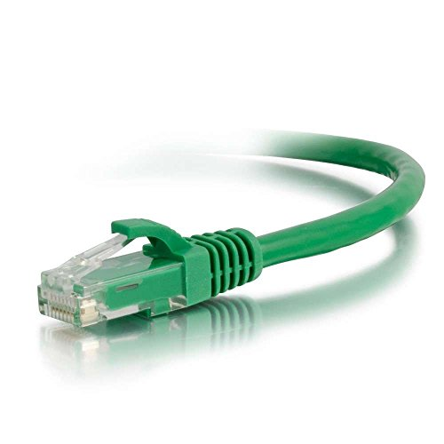 C2G 27176 Cat6 Cable - Snagless Unshielded Ethernet Network Patch Cable, Green (50 Feet, 15.24 Meters) (Renewed) (C2g Patch Cable Cat6)