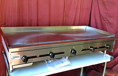 """60"""" Flat Top Griddle w/ 1"""" Plate SMG-60 LP Propane"""