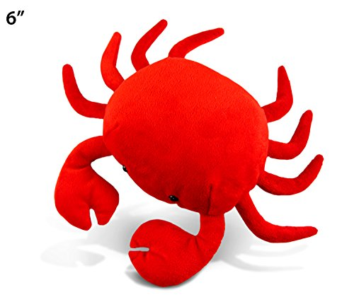Red Crab (Puzzled Red Crab Plush, 6