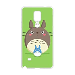 Samsung Galaxy Note 4 Cell Phone Case White My Neighbor Totoro Phone Cases Custom XPDSUNTR06483