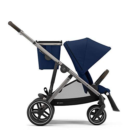 CYBEX Gazelle S Stroller, Modular Double Stroller for Infant and Toddler, Includes Detachable Shopping Basket, Over 20…