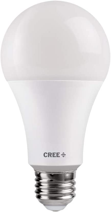 Soft White Renewed Cree TA21-16027MDFH25-12DE26-1-E1 A21 100W Equivalent LED Light Bulb