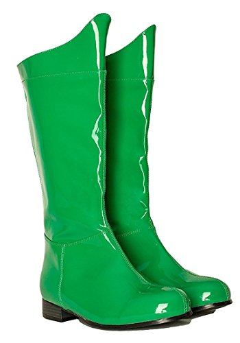 Green Lantern Cosplay SuperHero Power Ranger Halloween Costume Robin Shinkenger Men Boots (Spirit Halloween Power Ranger Costume)
