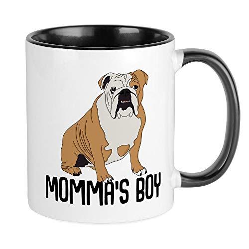 CafePress Momma's Boy Unique Coffee Mug, Coffee Cup