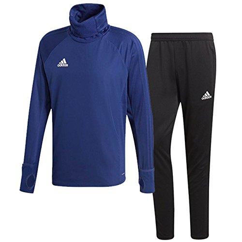 評価可能一致する相反するアディダス(adidas) CONDIVO18 ウォームトップ1 & トレーニングパンツ(ダークブルー/ブラック) DJV46-CV8973-DJU99-BS0526