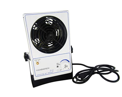 YUCHENGTECH Ionizing Air Blower Fan Electro Static Discharge Static Eliminator Anti-Static Ionizer 110V