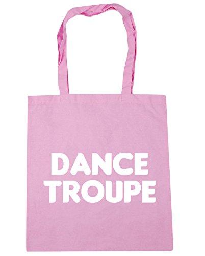 HippoWarehouse - Bolsa de playa de algodón  Mujer, natural (beige) - 21448-TOTE-Natural rosa (classic)