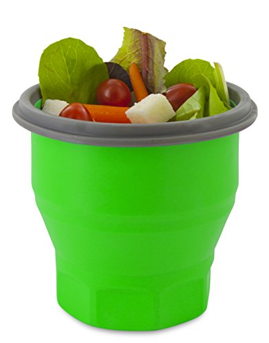 Smart Planet Collapsible Soup Salad Meal Kit, 26 oz, Green by Smart Planet