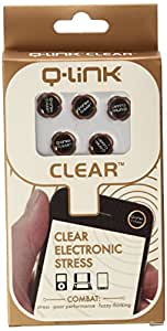 Q-Link Clear Diode For Cell Phone & EMF Protection 5-Pack