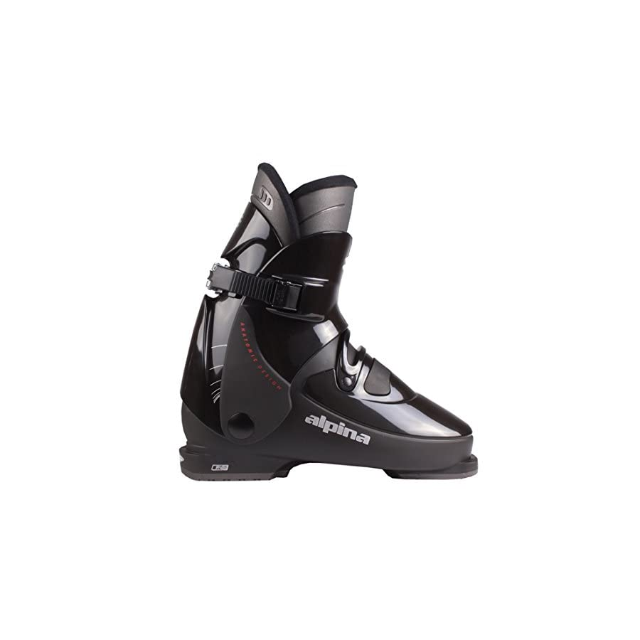 Alpina R4 Rear Entry Ski Boots Black 28.5