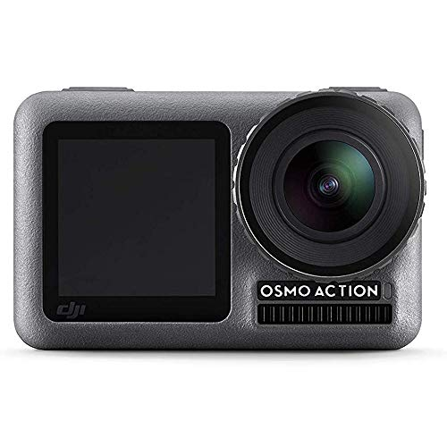 DJI OSMO Action Cam Digital Camera with 2 Displays 36FT/11M Waterproof 4K HDR-Video 12MP 145° Angle Black