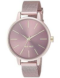 Reloj Nine West Color Collection para Mujer 38mm, pulsera de Acero Inoxidable