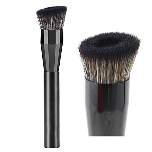 vela.yue Pro Liquid Foundation Brush for Natural Flawless Look - Angled Perfecting Face Brush