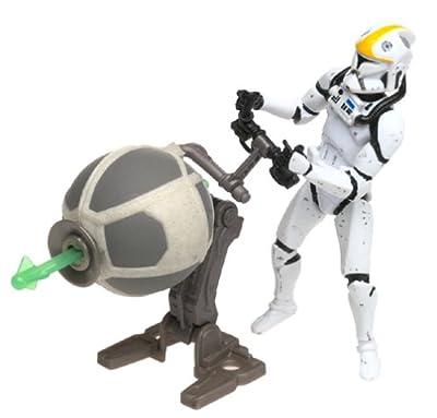 "Clone Trooper Republic Gunship Pilot Star Wars Attack of the Clones 3.75"" Action Figure"