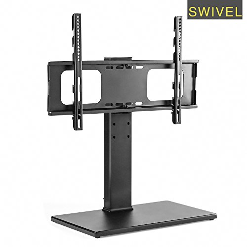 swivel universal tv stand for 37 to 65inch tvs swivel tv mount. Black Bedroom Furniture Sets. Home Design Ideas