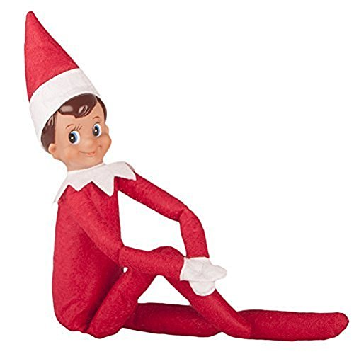 Totopark Christmas Elf Toy on The Shelf Plush Dolls Boy and Girl Decorations (Red