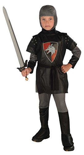 Cute Superhero Group Costumes (Boy's Knight Costume, Large)