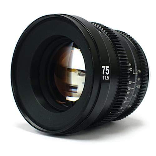 SLR Magic MicroPrime Cine 75mm T1.5 Compatible with Sony E Mount by SLR Magic