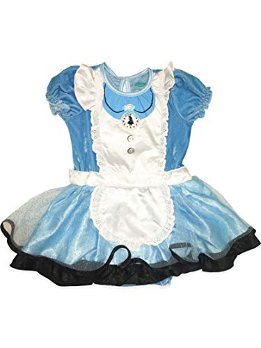 Disney Alice in Wonderland Infant Baby Girls' Costume Bodysuit Dress, 12 Months