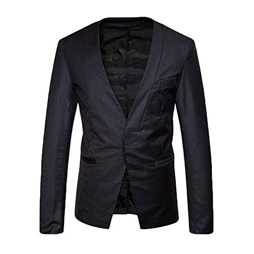Dunkelgrau Hommes Fit Suit One Pour Manteau Spring Essential Slim Button Autumn Vestes Leisure Veste qC6xwOFt1F