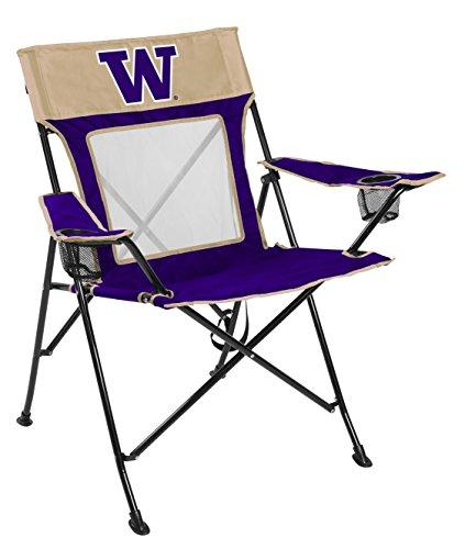 (NCAA Washington Huskies Unisex 00643108111NCAA Game Changer Chair (All Team Options), Blue, Adult)