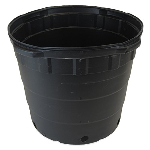 Viagrow 10 gallon Round Nursery Pots - 10 Pack by Viagrow