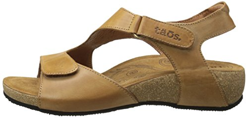 Taos Women's Rita Wedge Sandal, Tan, 41 EU/10-10.5 M US by Taos (Image #5)