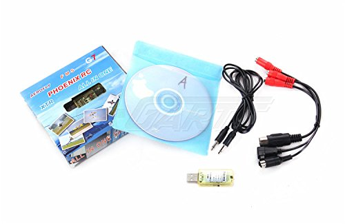 GarttAll In One Flight Simulator Cable/USB dongle G7 FMS Multifunction Virtual RC (256mb Ati Radeon 9800)