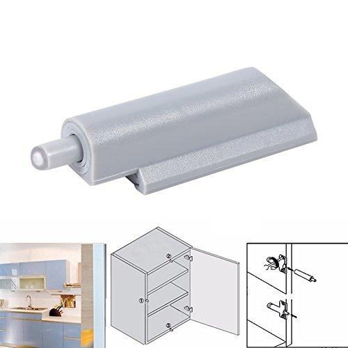 10pcs Abs Case Door Cabinet Drawer Hinge Push To Open
