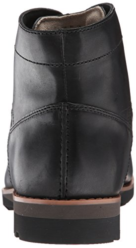 CLARKS Mens Padley Mid Boots Black Warm Lined Leather VxH9ppHEaT