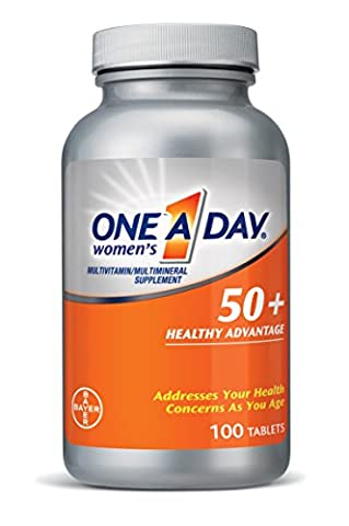 One A Day Women's 50+ Advantage, 100 Count (One A Day Bayer)