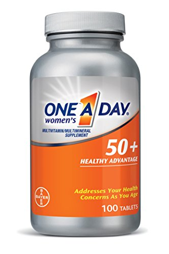 One A Day Women's 50+ Advantage, 100 Count