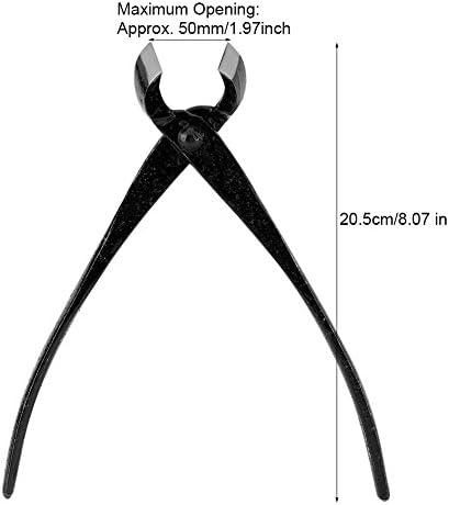 Bonsai Sécateur &Feuilles,Coupe-Bonsaï Coupe-branches 205mm Professionnel En Alliage de Zinc Bord Rond Bouton de Jardin Branche Bonsaï Outils