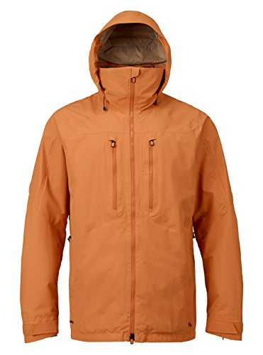 Mens Lightweight Burton Fleece Jacket (Burton Men's AK 2L Swash Jacket, Golden Oak, Medium)