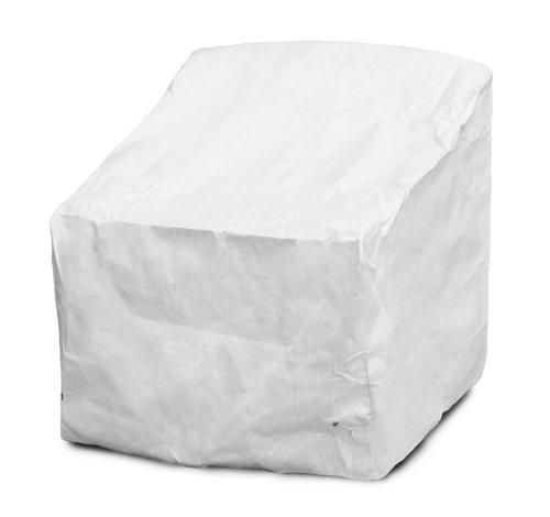 KoverRoos DuPont Tyvek 29804 Deep Seating Dining/Lounge Chair Cover, 36-Inch Width by 27-Inch Diameter by 35-Inch Height, White by KOVERROOS