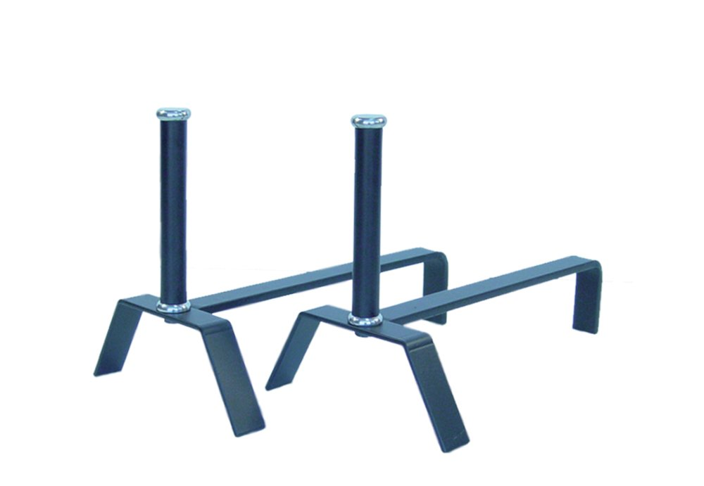 Imex el zorro 12101-i–Set di alari per camino in acciaio inox misure 25x41cm