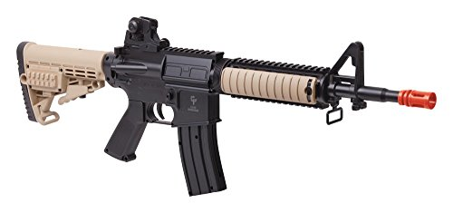 Game Face GameFace Airsoft Rifle GFR37 Spring Powered, Single Shot Mil-Style Rifle (Best Spring Airsoft Rifle)
