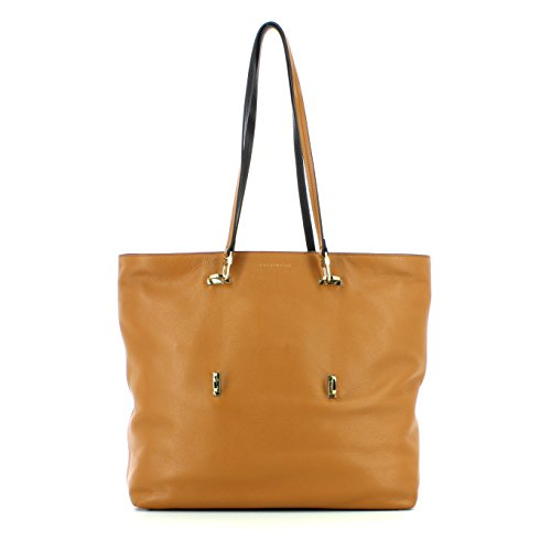 COCCINELLE Iggy Sac Shopper Bag Cuoio/Nero