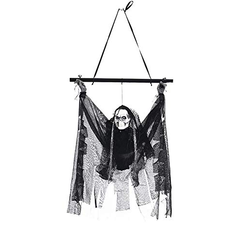 Party Diy Decorations - Halloween Linen Ghosts Horror Props Haunted House Bar Ktv Decorations Luminous Skeleton Pendant - Decorations Party Party Decorations Sandalia Slide Dress Hallowee -