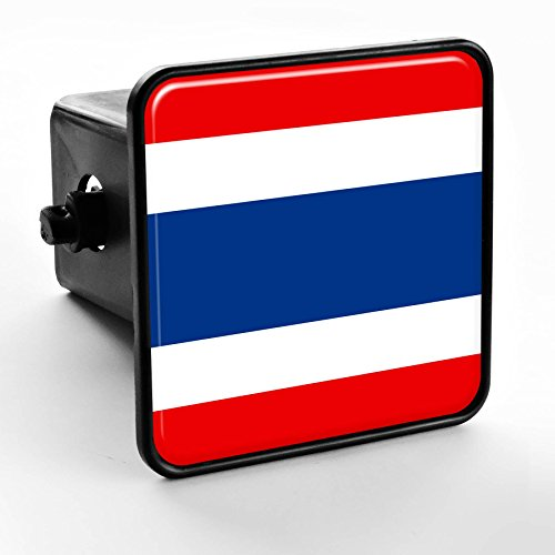 ExpressItBest Trailer Hitch Cover - Flag of Thailand (Thai) by ExpressItBest